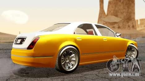 GTA 5 Enus Cognoscenti 55 pour GTA San Andreas laissé vue