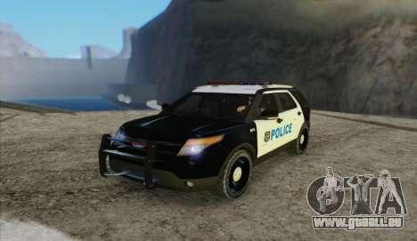 Ford Explorer Police pour GTA San Andreas