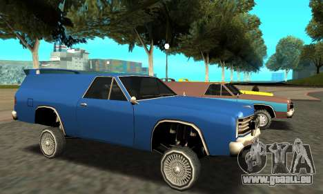 Picador Vagon Extreme für GTA San Andreas