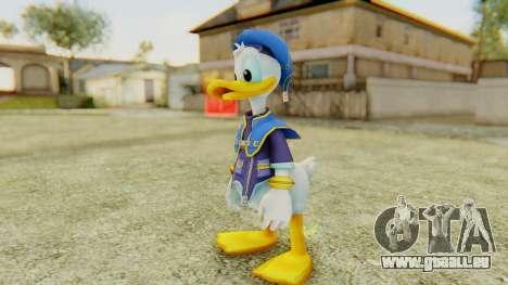Kingdom Hearts 2 Donald Duck Default v1 pour GTA San Andreas deuxième écran
