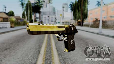 Deagle Louis Vuitton Version pour GTA San Andreas