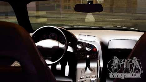 Mazda RX-7 Itasha pour GTA San Andreas vue de droite