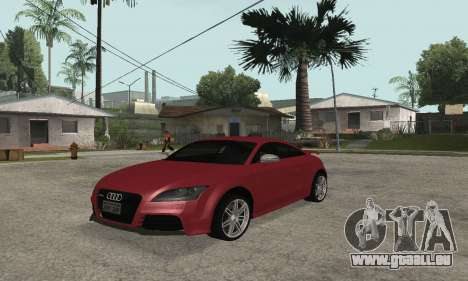 Audi TT-RS Tunable pour GTA San Andreas