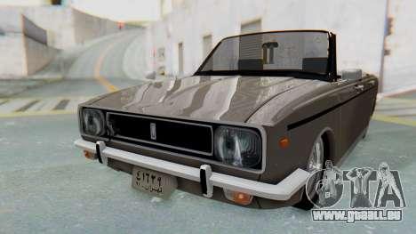 Peykan 80 Spyder pour GTA San Andreas vue de droite