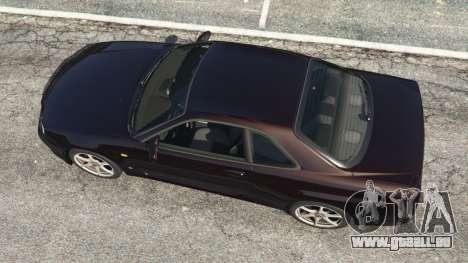 Nissan Skyline GT-R (R34) 1999 für GTA 5