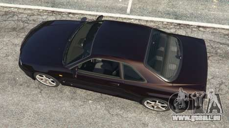 Nissan Skyline GT-R (R34) 1999 pour GTA 5