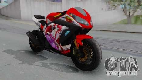 Kawasaki Ninja FI Custom Rias Gremory Itasha pour GTA San Andreas