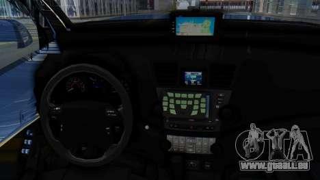 Toyota Fortuner TRD Sportivo Vossen für GTA San Andreas Rückansicht