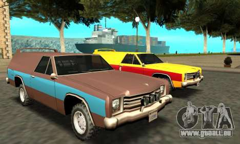 Picador Vagon Extreme pour GTA San Andreas salon