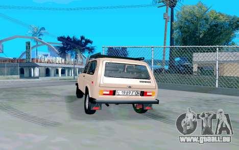 VAZ Niva pour GTA San Andreas sur la vue arrière gauche