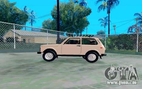 VAZ Niva pour GTA San Andreas laissé vue