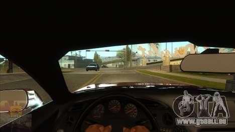 La première personne de la v3.0 pour GTA San Andreas deuxième écran