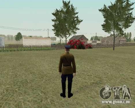 La collection de Soldats de l'armée rouge pour GTA San Andreas dixième écran
