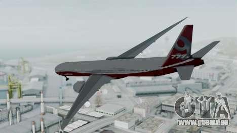 Boeing 777-9x House pour GTA San Andreas laissé vue
