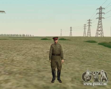 La collection de Soldats de l'armée rouge pour GTA San Andreas cinquième écran