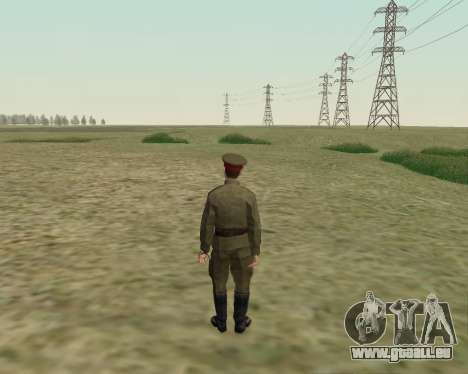 La collection de Soldats de l'armée rouge pour GTA San Andreas septième écran