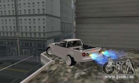 Nissan Skyline R34 Pickup pour GTA San Andreas laissé vue