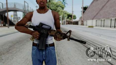 M16 A2 Carbine M727 v2 pour GTA San Andreas troisième écran