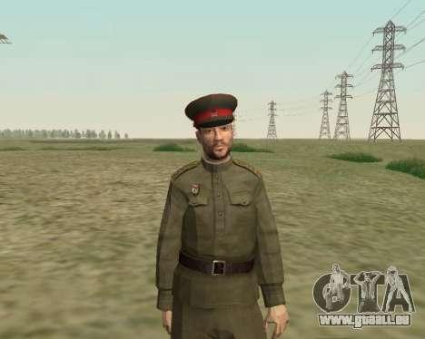 Die Sammlung Soldaten der roten Armee für GTA San Andreas sechsten Screenshot