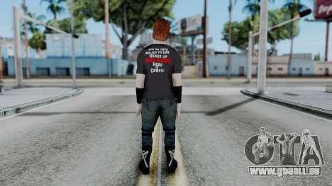Sheamus Casual pour GTA San Andreas troisième écran