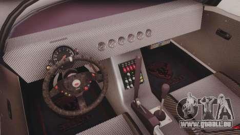 GTA 5 Bravado Banshee 900R Carbon IVF pour GTA San Andreas vue arrière