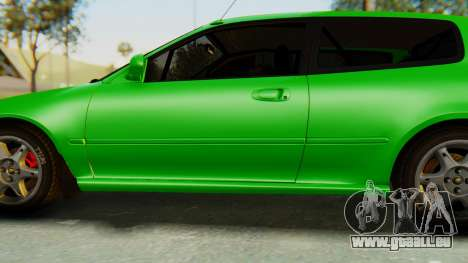 Honda Civic Vti 1994 V1.0 für GTA San Andreas Räder
