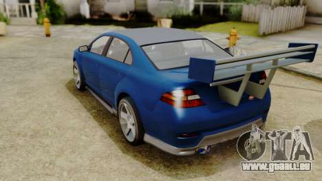 GTA 5 Vapid Greenwood pour GTA San Andreas laissé vue