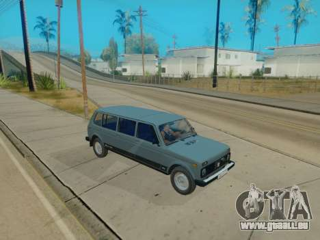 ВАЗ 2131 7-porte [HQ Version] pour GTA San Andreas vue intérieure
