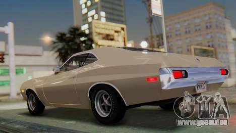 Ford Gran Torino Sport SportsRoof (63R) 1972 PJ2 pour GTA San Andreas laissé vue