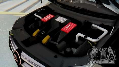 Brabus B63S pour GTA San Andreas roue