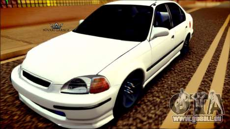 Honda Civic by Snebes für GTA San Andreas