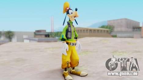 Kingdom Hearts 2 Goofy Default für GTA San Andreas zweiten Screenshot