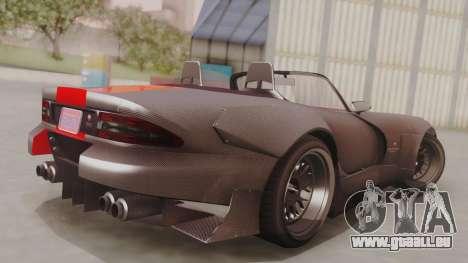 GTA 5 Bravado Banshee 900R Carbon IVF pour GTA San Andreas laissé vue