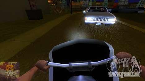 La première personne de la v3.0 pour GTA San Andreas troisième écran
