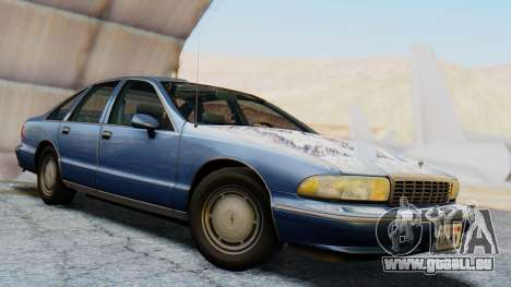 Chevrolet Caprice 1993 pour GTA San Andreas