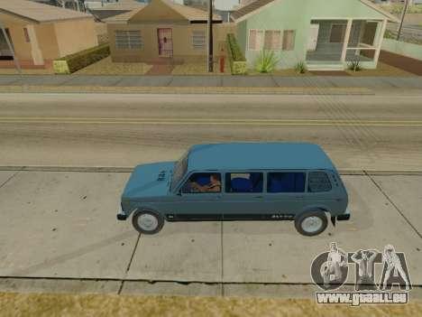 ВАЗ 2131 7-porte [HQ Version] pour GTA San Andreas laissé vue