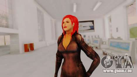 Scarlet Johansson - Black Widow für GTA San Andreas