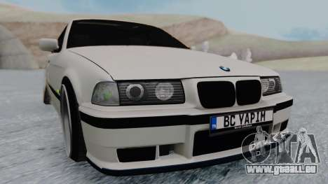 BMW 3-er E36 pour GTA San Andreas vue de droite