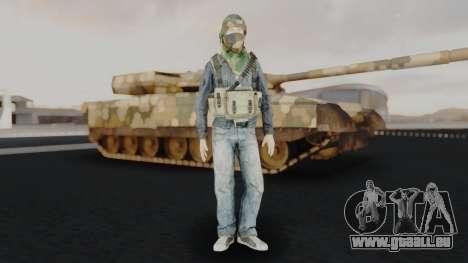 Somalia Militia Woodland Camo pour GTA San Andreas deuxième écran