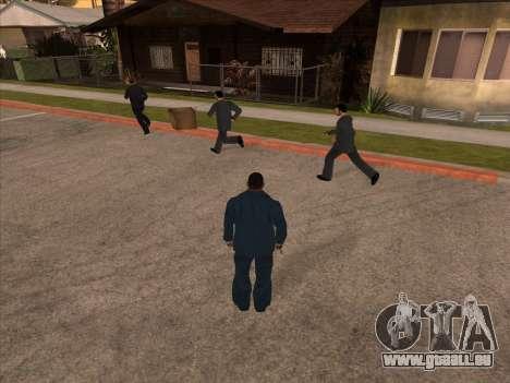 La mafia russe dans Ganton pour GTA San Andreas
