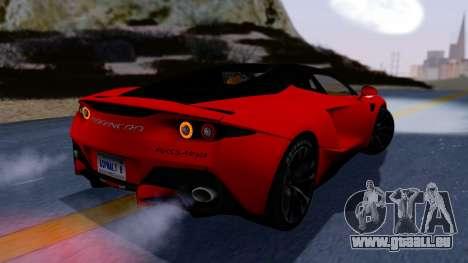 Arrinera Hussarya v2 Carbon pour GTA San Andreas laissé vue