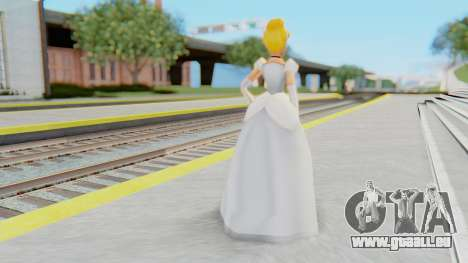 Cinderella pour GTA San Andreas troisième écran