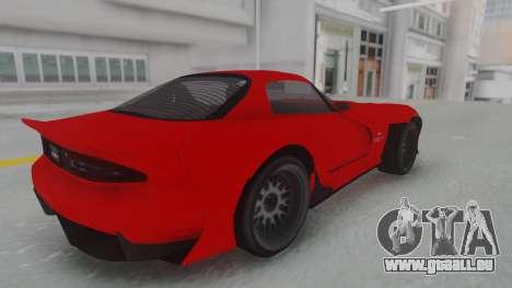 GTA 5 Bravado Banshee 900R Stock für GTA San Andreas zurück linke Ansicht