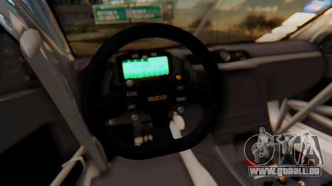 Maserati Gran Turismo Tron pour GTA San Andreas vue de côté