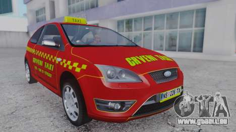 Ford Focus ST Taxi für GTA San Andreas