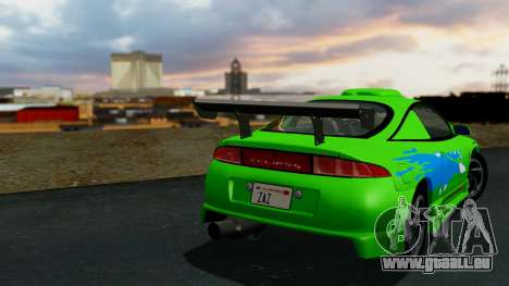 Mitsubishi Eclipse GST 1995 pour GTA San Andreas vue arrière