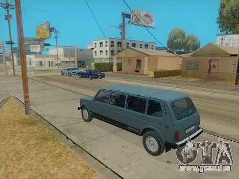ВАЗ 2131 7-porte [HQ Version] pour GTA San Andreas sur la vue arrière gauche