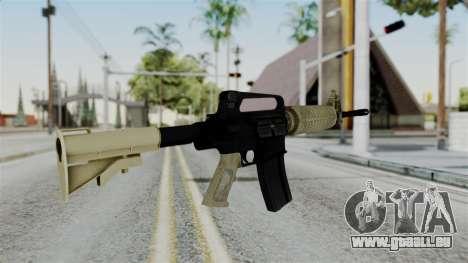 M16 A2 Carbine M727 v3 pour GTA San Andreas deuxième écran