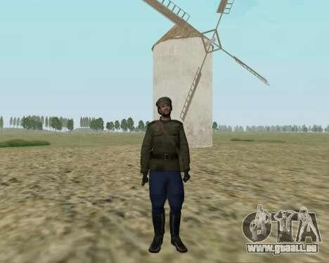La collection de Soldats de l'armée rouge pour GTA San Andreas