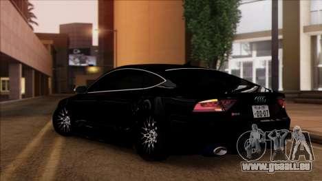 Audi RS7 Daily Drifters pour GTA San Andreas laissé vue